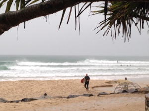 First Point surfed out done for the day.