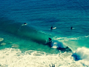 SUMMER IS ON THE WAY, MORE WAVES, MORE TUNNEL TIME.
